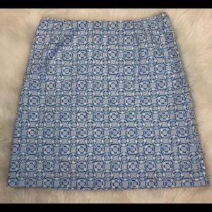 Vineyard Vines Sz 2 Blue Life Preserver Ring Skirt